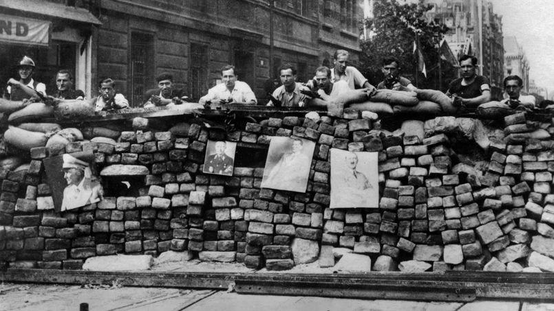 Liberation de Paris : barricade